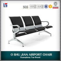 Waiting metal chair seat cushions
