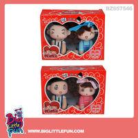 9cm wedding toys couple doll toys ddung