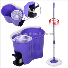 Top quality cheap perfect 360 degree spin mop manuanl floor cleaning mopnado deluxe spin mop