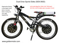 Moto elelctric chino / bicicleta eléctrica / bicicleta de montaña