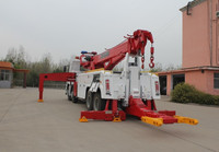 Heavy duty rotator recovery truck for sale