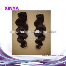 No bad smell soft cuticles aligned Filipino cheap human hair weaving 3 lot