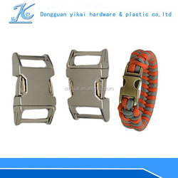 metal buckle curve for paracord,15mm metal curved buckle for dog collar