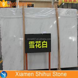 imported snow white marble