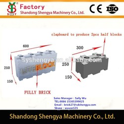 LOW COST!!!best quality CLC manual block mould OEM manufacturer, manual mold for concrete foam blocks