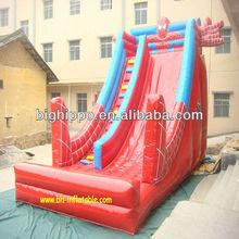 inflatable spiderman slide