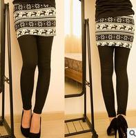 WINTER WARM LADY'S CHRISTMAS LEGGINGS OR PANTSKIRTS WITH THICK LINING