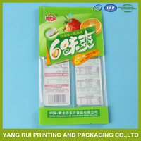 Customized printed coffee packaging bags/8oz green coffee aluminum foil lined bag/Quad sealing plastic