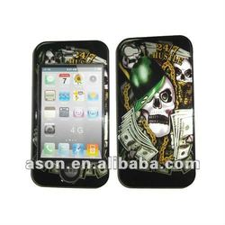 Skeleton PC Mobile Phone Case for iPhone 4G
