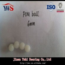 POM solid plastic ball 6mm-25mm with cheapest price