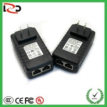 12V 24V 48V active poe injector For IP Phone, IP Camera