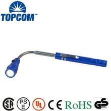 Promotional High Power 3 LED Torch Telescipic Extendable Flexible Pick Up Flashlight