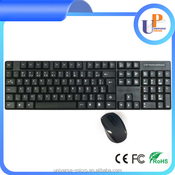 cheap wireless keyboard and mouse rechargeable wireless flexible keyboard and mouse combo for ipad