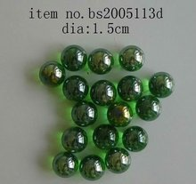 decorative clear color solid glass balls/christmas balls
