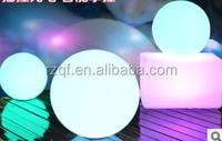 Hot saleDecorative LED Cube Light/7color LED light/ indoor and outdoor decoration