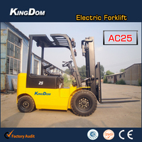 2.5Ton AC fork lift, Electric fork lift with CURTIS controller and battery charger