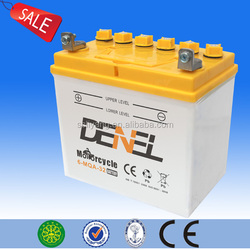2015 Hot selling tricycle battery, stable performance tricycle battery,12V 30ah tricycle battery with factory price