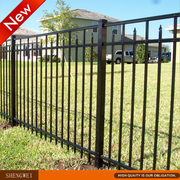 Wholesale price garden wrought iron fencing panels buy