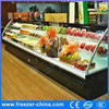 European Style Air Curtain Refrigerated Cabinet for Fruit and Vegetable