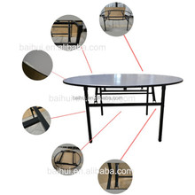 2015 Xinbaihui cheap but high quality banquet folding table for event