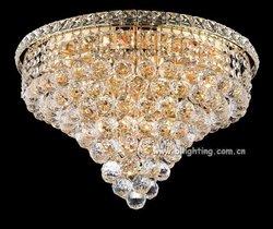 Round indoor cristal embedded ceiling lights