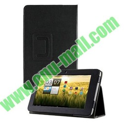 Crazy Horse Texture Leather flip case for acer iconia tab w510