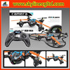 powerful 2.4G 4 axis remote control toy helicopter, aircraft stunt drone helicopter 6 axis gyro with camera