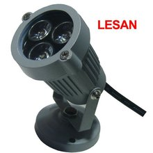 New design 3w 6w outdoor round led wall light
