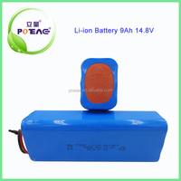 Popular 18650 14.8v 9000mah li-ion battery pack