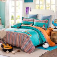 bedding set 3d,3d embroidery bedding set