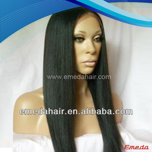 Favorites Compare Long style virgin peruvian hair 22 inch lace front wigs
