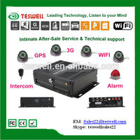 1080P Preview And Recording 3G Wifi Gprs Gps Mobile Dvr For Vehicles player