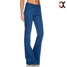 2015 jeans di marca a buon mercato per le donnei jeans svasati jxq1027