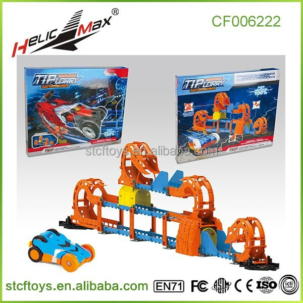 Electric Car Toys Racer On Track