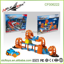 2015 board track racer train sets electronic toys for kids snowmobile electric slot cars toy children