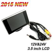 hot 3.5 inch car in dash lcd reverse monitor