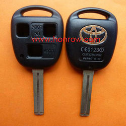 High Quality toyota car remote key Toyota 3 button remote key shell with TOY48 blade,Toyota key blank,Toyota keys