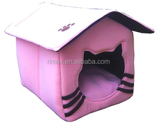 RIMAX Pet Dog Kitten Cat Puppy Bed Paw prefab design Pinky large dog house for sale