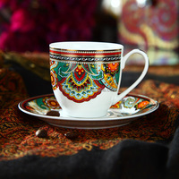 110CC Luxury Fine White Porcelain Coffee Cup