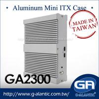 Industrial Fanless PC Mini ITX Aluminum Case GA2300