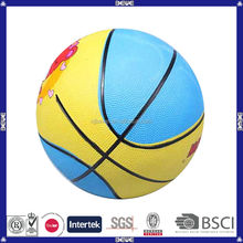 2014 wholesale mini cheap kids basketball with customized logo