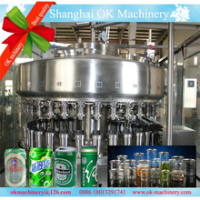 aluminum /tin /Pop /PET can filler machinery /Can Filling Production Line