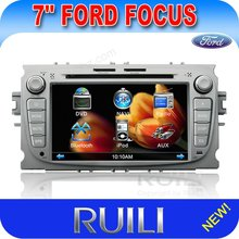 7'' inch HD digital touch screen car audio special for Ford Focus with GPS Navi