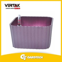 Professional service window cheap self watering moisture control plastic flower pot