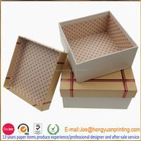 High Quality Custom Handmade Fancy Cardboard Paper Gift Box for children birthday gift box CHF029