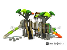 forest theme hot sale kids outdoor playsets amusement park children plastic playground