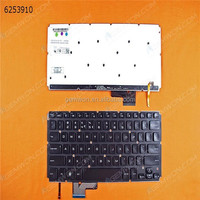 US version/Layout laptop keyboard For DELL XPS 14R GLOSSY(Without frame,backlit)