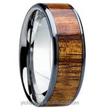 2015 Stainless Steel Rings Jewelry Old Color Men's Wood rings