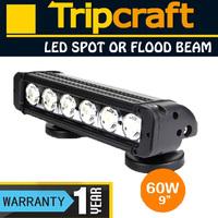 Hight intensity! 60W LED LIGHT BAR 9-70V DC for Pickup truck,mining single row Led Light Bar