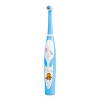 High quality 36(L)*36(W)*236(H) mm children electric rotating toothbrush